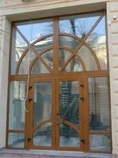 Металопластикові двері REHAU Brilliant Design