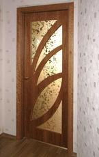 Двері міжкімнатні шпоновані двері