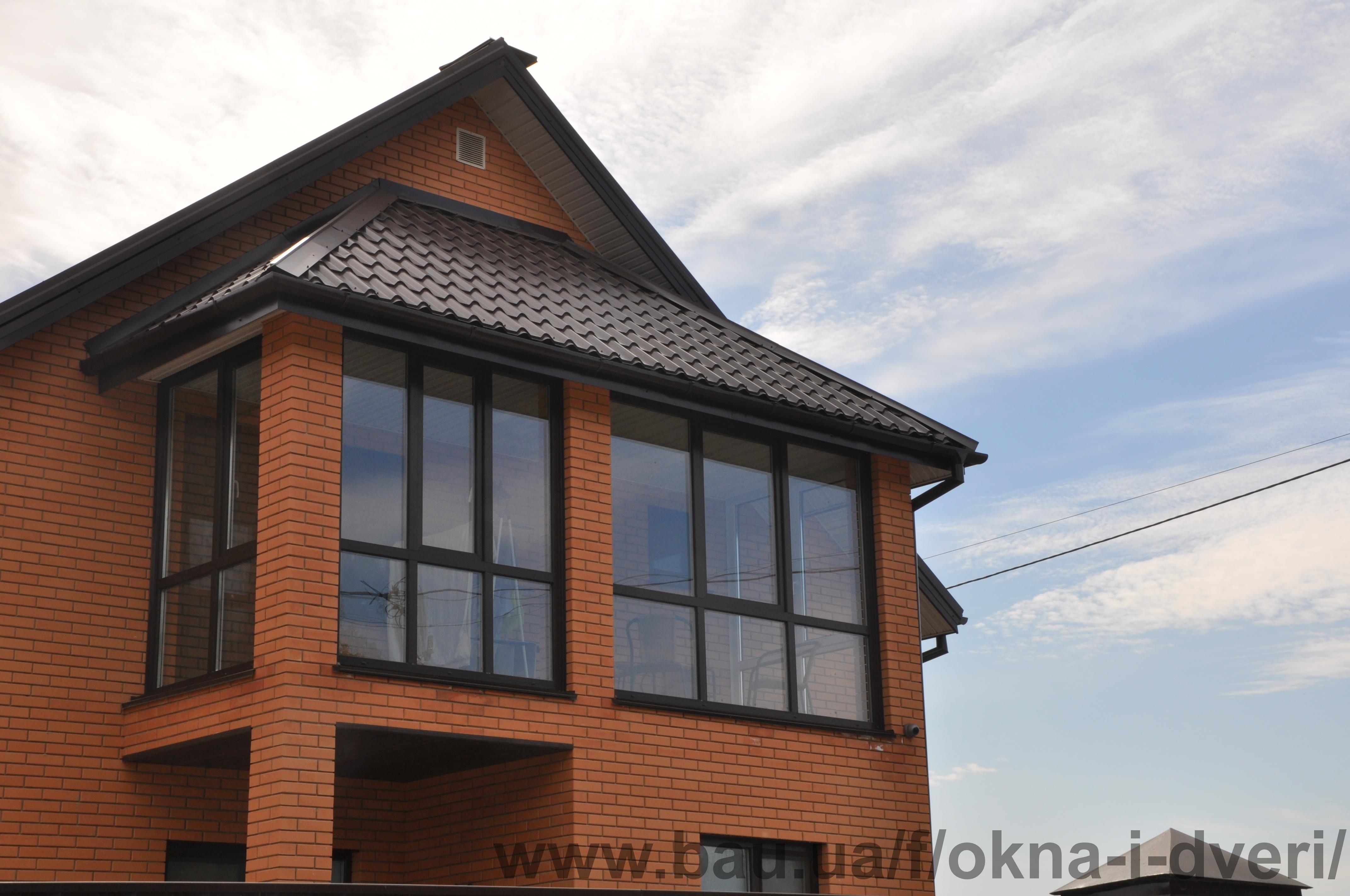 Окна & двери - окна & двери - остекление балкона в загородно.