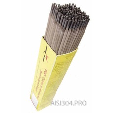 Електроди для зварювання нержавіючої сталі ЦЛ-11 3 мм 5 кг