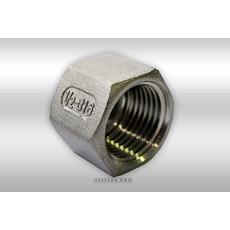 "Заглушка з нержавіючої сталі 6-гранна внутрен. 1/2 ""AISI 3"